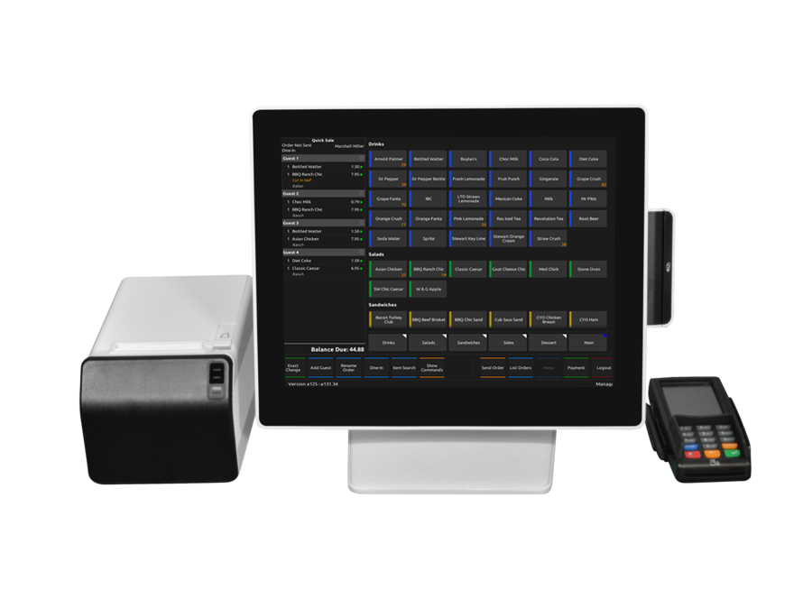 Restaurant POS with Emagine POS