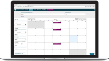 SpotOn schedule software